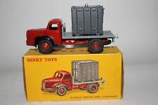 1950's Dinky  #34B Berliet Container Truck, Nice Boxed Lot #2