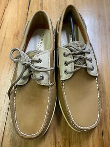 Sperry Top-sider Camel Leather Shoes