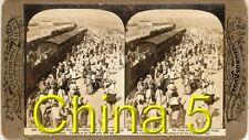 18 new STEREOFOTOS ÜBER CHINA PEKING UM 1900 Serie 5