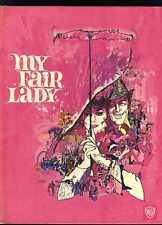 Audrey Hepburn Rex Harrison My Fair Lady Hardcover Souvenir Program Book