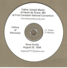FATHER MARTIN 1969-2001 5 CDs VARIOUS ALCOHOLICS ANONYMOUS TALKS ALANON AFG AA