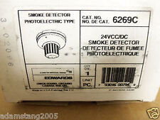 NEW EST EDWARDS FIRE ALARM SMOKE DETECTOR PHOTOELECTRIC 6269C