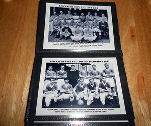 LEICESTER CITY FOOTBALL CLUB Photo Album (1948 - 1960 )