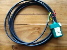 MK Tap off Unit Lead - 32a 240v - Underfloor  3 Pin Green & cable New UT33202