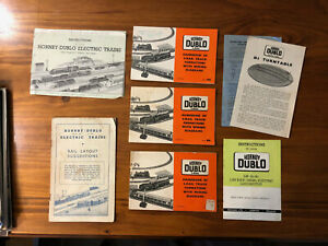 Collection of HORNBY DUBLO Pamplets / Track Plans / Instruction - good condition