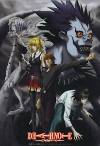 Death Note Japanese Animation Cartoon Anime A4 260gsm poster print.