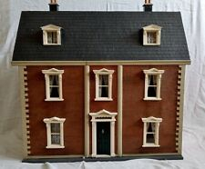 Vintage 1/12th Period Detailed & Decorated Dolls House Georgian Victorian