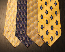 Lot of 4 NEW Puritan Designer Neck Ties with Patterns LD006