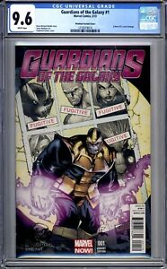 Guardians Of The Galaxy #1 - CGC 9.6 (NM+) 2013 - First Issue Variant