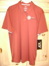 Oakley Polo Golf Shirt Tailored Fit XL/TG Iron Red (Brick) New PGA Gateway LQQK!