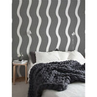 Op- black white optical illusion pattern Non-Woven wallpaper Traditional Mural