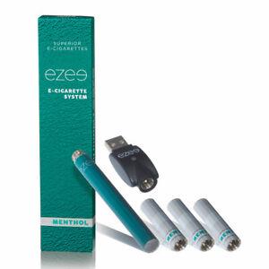 Ezee E-Zigarette Starterset Mint 0, 12, 20 mg Nikotin Mit 3 Depots / Filter