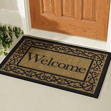 Mat Floor Rug Door Welcome Doormat Indoor Outdoor Entrance Non-Slip