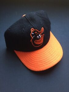 Baltimore Orioles Cooperstown New Era Fitted Wool Baseball Cap - Size 7 1/4