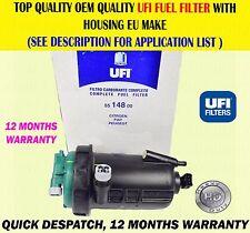 FOR FIAT DUCATO PEUGEOT BOXER CITROEN RELAY 2.3 3.0 FUEL FILTER HOUSING COMPLETE