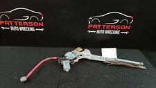 2003 Infiniti Fx45 Driver Lh Rear Door Window Glass Regulator w/ Electric Motor