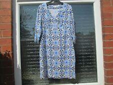 Boden Tunic Size 8L  Linen Notch Neck Tunic/Dress  RRP £69.50