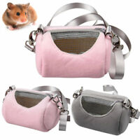Portable Pet Hamster Carrier Bag Hedgehog Chinchilla Cage Sleeping Pack Pouch DM