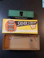 vintage Silver Streak Craft Train Kit HO Scale Box Car