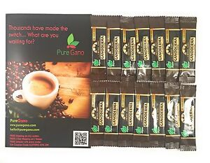 Coffee King Premium Black Ganoderma Lucidum Coffee 14 Samples, 2 Week Trial