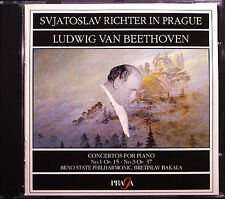 Sviatoslav Richter: Beethoven Piano Concerto 1 3 Bakala CD klaierkonzerte Praga