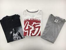 Lot of 3 BOBBY FRESH AIR JORDAN 45 Vtg NIKE Basketball Men's T-shirts Size XL