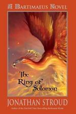 Bartimaeus: The Ring of Solomon (A Bartimaeus Novel), Stroud, Jonathan, Good Boo