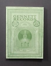 """GENNETT RECORDS - 1924 CATALOG"" Starr Piano Company, Indiana (Reproduction)"