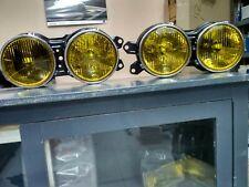 BMW E12 Euro Hella headlights yellow !!NEW!! GENUINE OEM 63121360193 63121360194