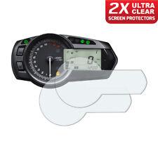 2 x Kawasaki ZX-6R / 636 / Ninja 2009+ Dashboard Screen Protector: Ultra-Clear