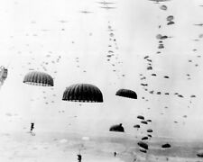 1st Allied Airborne Army Paratroops land in Holland 8x10 WWII WW2 Photo 515