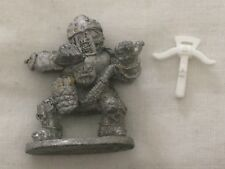 metal pre slotta solid base armoured giant goblin big orc ogre with crossbow