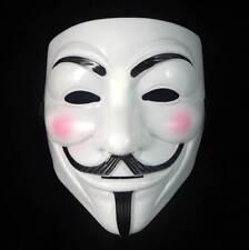 NUOVO V PER VENDETTA MASCHERA Anonymous Guy Fawkes Costume Adulto Costume Cosplay.