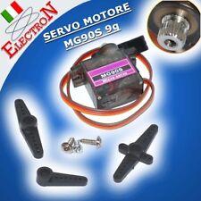 SERVO MOTORE MG90S 9g INGRANAGGI IN METALLO COPPIA 2,2KG ROBOT CAR SG90 upgrade