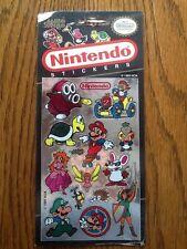 1 Rare VTG NEW! Mello Smello Nintendo Mario,Luigi,Link,Peach Shiny Stickers