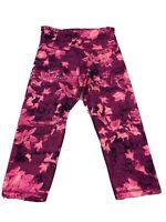 Old Navy Active Womans Size Large Athletic Capri Pants Floral