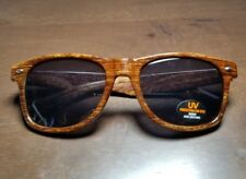 PAPA & BARKLEY Wayfarer Sunglasses wood colored design LIMITED EDITION RARE VHTF