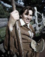 8x10 Print Fess Parker Daniel Boone 1966 #FPDB