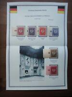 Germany 1922 Stamps MNH Wmk Arms of Munich Deutsches Reich Deutschland German