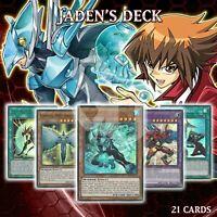 Jaden's Deck 21 | Liquid Soldier Aqua Dolphin Skyscraper Hero Lives LED6 YuGiOh