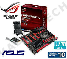 NEW ASUS ROG Rampage V Extreme USB3.1 Intel X99 Express 2011 E-ATX Motherboard
