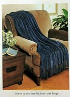 Target Home - Chenille Throw Blanket Black 50 x 70 inches New NOS