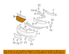 Saturn GM OEM 05-07 Ion-Grille Grill 22729179