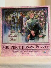 "Princess Diana The English Rose 500 Piece Puzzle 1998 Rebecca Hardin 18"" x 24"""