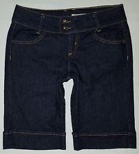 Womens dkny denim jean capri/shorts  sz 6