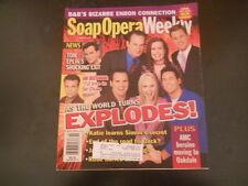 Jesse Metcalfe, Matt Bomer - Soap Opera Weekly Magazine 2002