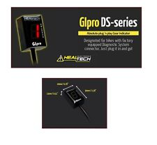 HEALTECH GIpro DS series Gear position indicator for motorcycles