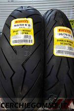 Coppia Gomme Scooter 120/70/15 160/60/15 Pirelli Diablo Rosso Yamaha T Max 530