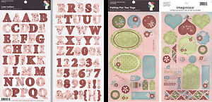 Imaginisce Double Sheet Cardstock Stickers -Love Tags Vintage/Shabby Chic