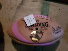 PINK STRIPE  Spalding Arena Football AFL Official Game Ball L@@K